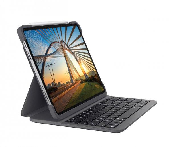 "Logitech Slim Folio Pro für iPad Pro 11"" (1./2. Gen.)"