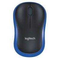 Logitech M185 Bluetooth Maus Blau