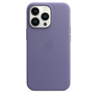 Apple Leder Case für iPhone 13 Pro Wisteria