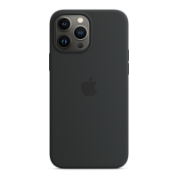 Apple Silikon Case für iPhone 13 Pro Max Mitternacht