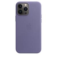 Apple Leder Case für iPhone 13 Pro Max Wisteria