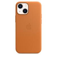 Apple Leder Case für iPhone 13 mini Goldbraun