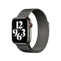 Apple Milanaise Armband Graphit