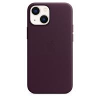 Apple Leder Case für iPhone 13 mini Dunkelkirsch