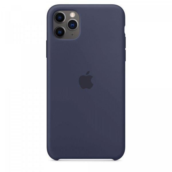Apple iPhone 11 Pro Max Silikon Case, Mitternachtsblau