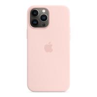 Apple Silikon Case für iPhone 13 Pro Max Kalkrosa