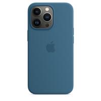 Apple Silikon Case für iPhone 13 Pro Eisblau