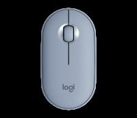Logitech Pebble M350 Blau-Grau
