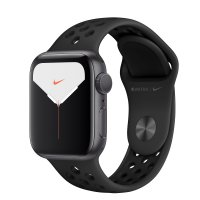 Apple Nike Sportarmband Anthrazit/Schwarz