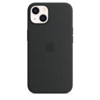 Apple Silikon Case für iPhone 13 Mitternacht
