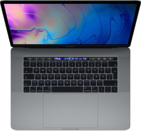 "Apple MacBook Pro 15"" (Modell 2018), 2.2 GHz i7, 16 GB, 256 GB SSD, Space Grau"