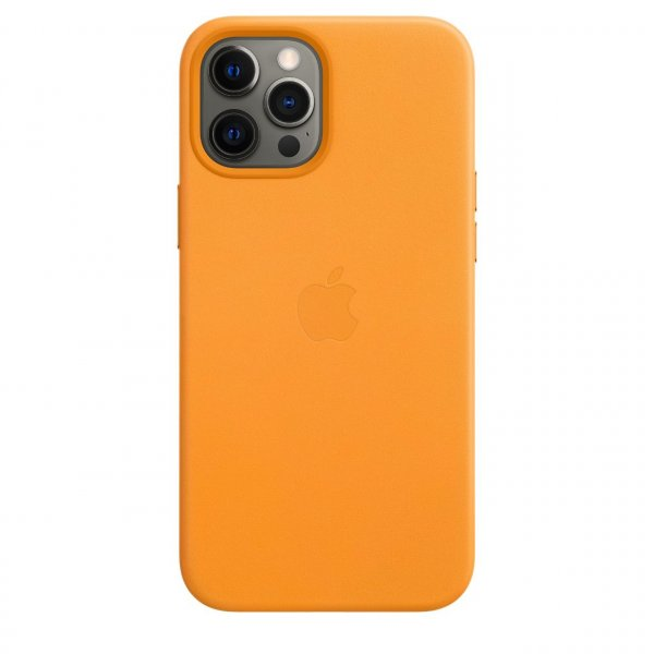 Apple iPhone 12 Pro Max Leder Case mit MagSafe