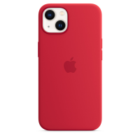 Apple Silikon Case für iPhone 13 (Product) Red