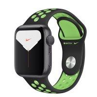 Apple Nike Sportarmband Schwarz/Lime Blast