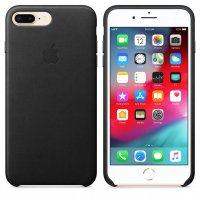 Apple iPhone Leder Case Schwarz