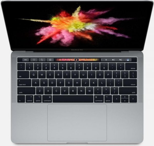 """Apple MacBook Pro 13"""" (Modell 2017), 3.1 GHz i5, 256 GB SSD, Touch Bar, Space Grau"""