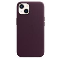 Apple Leder Case für iPhone 13 Dunkelkirsch