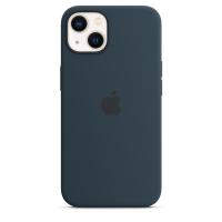 Apple Silikon Case für iPhone 13 Abyssblau
