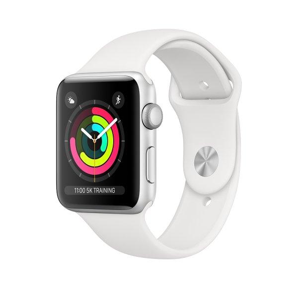 Apple Watch Series 3 GPS, Aluminium/Silber