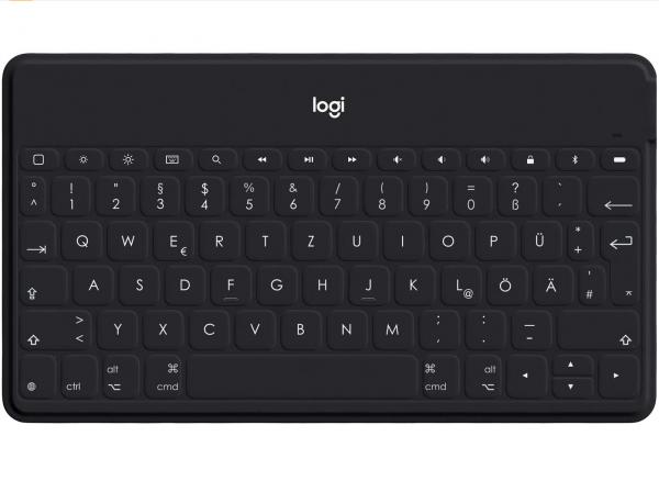 Logitech Keys-To-Go, schwarz