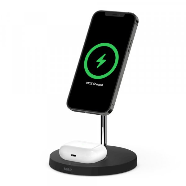 Belkin BOOST CHARGE PRO 2-in-1 QI Charger mit MagSafe