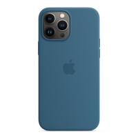 Apple Silikon Case für iPhone 13 Pro Max Eisblau