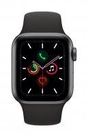 Apple Watch Series 5 Aluminium Space Grau / Schwarz