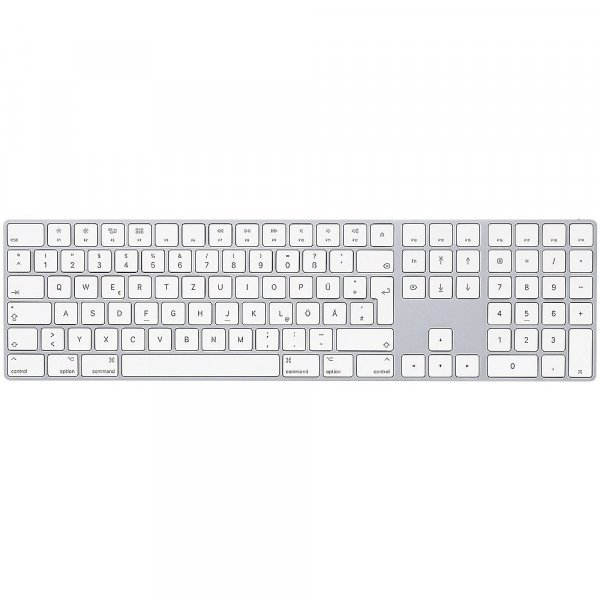 Apple Magic Keyboard mit Ziffernblock, US-Englisch