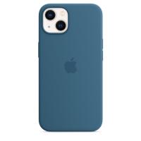Apple Silikon Case für iPhone 13 Eisblau