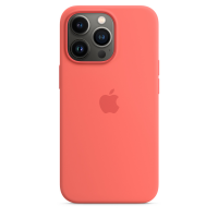 Apple Silikon Case für iPhone 13 Pro Pink Pomelo