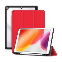"""DEQSTER Rugged Trifold Case für iPad 10.2"""" (7./8./9. Gen.) Rot"""