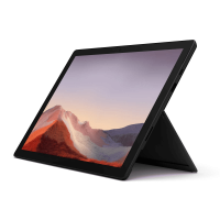 Microsoft Surface Pro 7 Mattschwarz