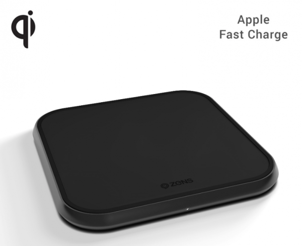 Zens Aluminium Single Wireless Charger