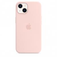 Apple Silikon Case für iPhone 13 Kalkrosa