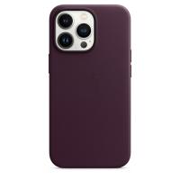 Apple Leder Case für iPhone 13 Pro Dunkelkirsch