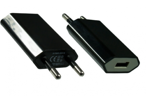 DINIC Ladeadapter mit USB Anschluss