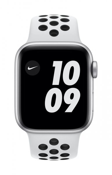Apple Watch Nike SE Aluminium Silber