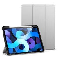 ESR Silicon Folder Case für das iPad Air (4. Gen) Silbergrau