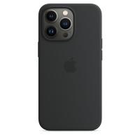 Apple Silikon Case für iPhone 13 Pro Mitternacht