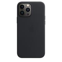 Apple Leder Case für iPhone 13 Pro Max Mitternacht