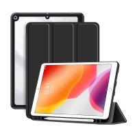 """DEQSTER Rugged Trifold Case für iPad 10.2"""" (7./8./9. Gen.) Schwarz"""