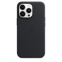 Apple Leder Case für iPhone 13 Pro Mitternacht
