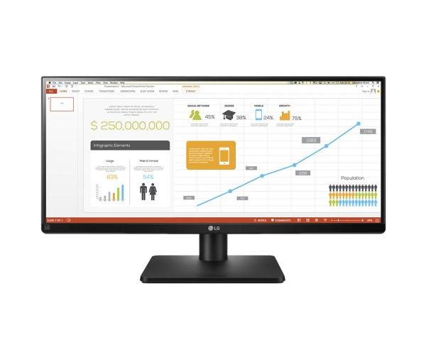 """LG LED-Monitor 29UB67-B, 73,66cm (29""""), 2560x1080, AH-IPS, 300cd/m2, 1000:1, 5000000:1 (dynamisch),"""