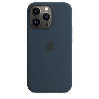Apple Silikon Case für iPhone 13 Pro Abyssblau