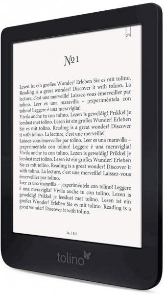 Tolino Shine 3, eBook-Reader, 8 GB, Touchscreen, Wi-Fi